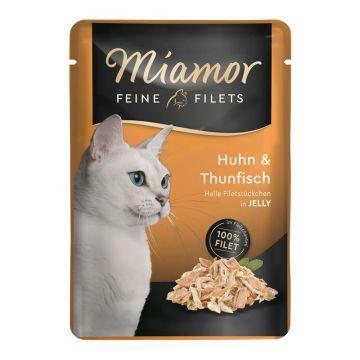 Miamor FB Feine Filets Huhn & Thunfisch 100g (Menge: 24 je Bestelleinheit)