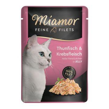 Miamor FB Feine Filets Thunfisch & Krebs 100g (Menge: 24 je Bestelleinheit)