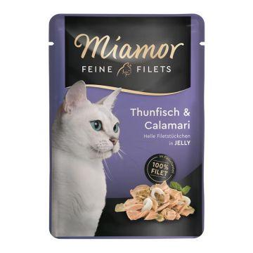 Miamor FB Feine Filets Thunfisch & Calamari 100g (Menge: 24 je Bestelleinheit)