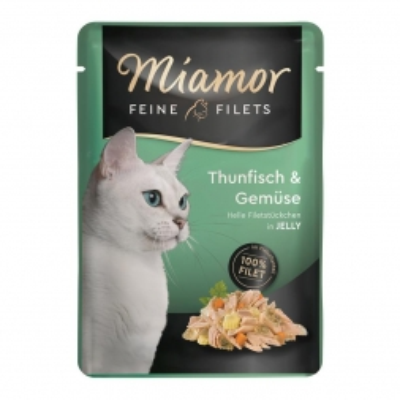 Miamor FB Feine Filets Thunfisch & Gemüse 100g (Menge: 24 je Bestelleinheit)