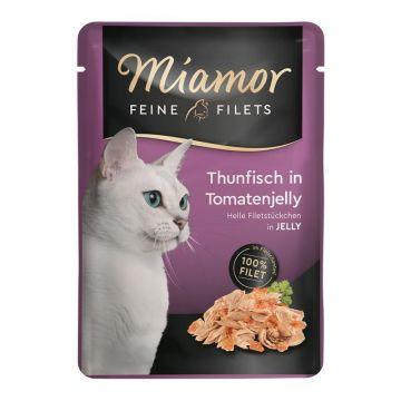 Miamor FB Feine Filets Thunfisch & Tomatenjelly 100g (Menge: 24 je Bestelleinheit)