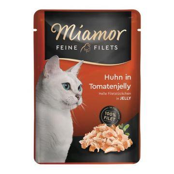 Miamor FB Feine Filets Huhn & Tomatenjelly 100g (Menge: 24 je Bestelleinheit)