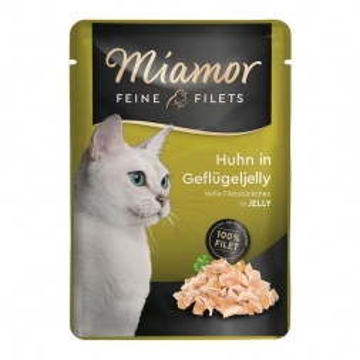 Miamor Feine Filets Huhn in Geflügeljelly 100g (Menge: 24 je Bestelleinheit)