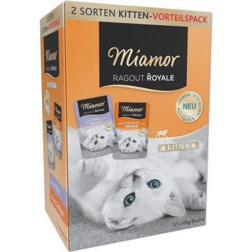 Miamor FB Ragout Royale Multibox Kitten in Jelly 12x100g (Menge: 4 je Bestelleinheit)
