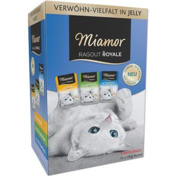 Miamor FB Ragout Royale Multibox in Jelly 12x100g (Menge: 4 je Bestelleinheit)