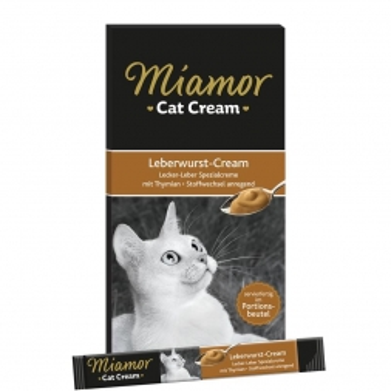 Miamor Cat Confect Leberwurst-Cream 90g (Menge: 11 je Bestelleinheit)