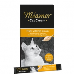 Miamor Cat Confect Multi-Vitamin Cream 6x15g (Menge: 11 je Bestelleinheit)