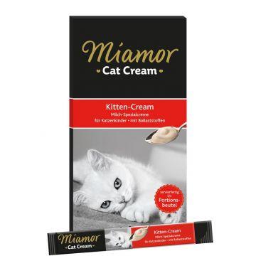Miamor Confect Kitten-Milch-Cream 5 x 15g (Menge: 11 je Bestelleinheit)
