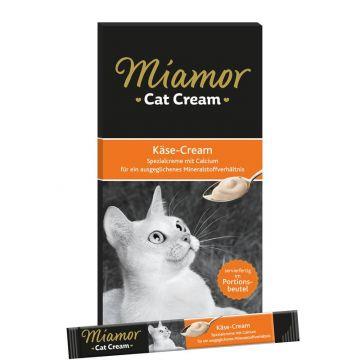 Miamor Snack Käse-Cream 5 x 15 g (Menge: 11 je Bestelleinheit)