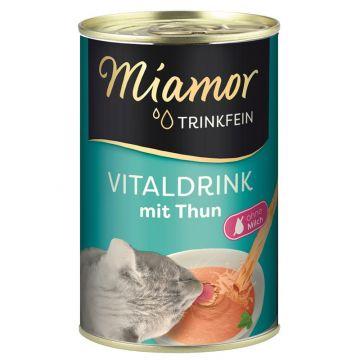 Miamor Trinkfein Vitaldrink mit Thunfisch 135ml  (Menge: 24 je Bestelleinheit)
