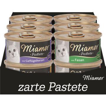 Miamor Pastete Multibox Geflügel 12x85g (Menge: 5 je Bestelleinheit)