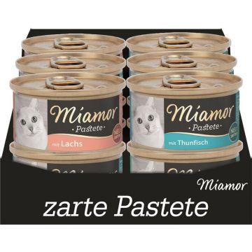 Miamor Pastete Multibox Fisch 12x85g (Menge: 5 je Bestelleinheit)