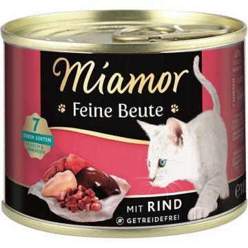 Miamor Dose Feine Beute Rind 185g (Menge: 12 je Bestelleinheit)