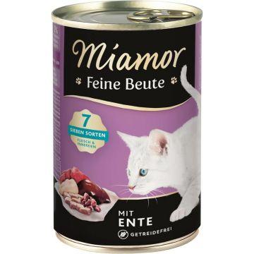 Miamor Dose Feine Beute Ente 400g (Menge: 12 je Bestelleinheit)