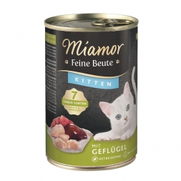 Miamor Dose Feine Beute Kitten Geflügel 400g (Menge: 12 je Bestelleinheit)