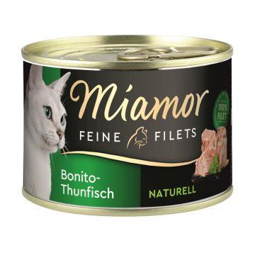 Miamor Dose Feine Filets Naturelle Bonito-Thunfisch 156g  (Menge: 12 je Bestelleinheit)