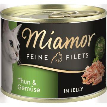 Miamor Dose Feine Filets Thunfisch & Gemüse 185g  (Menge: 12 je Bestelleinheit)