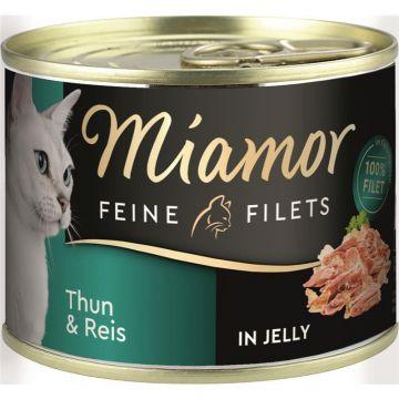 Miamor Dose Feine Filets Thunfisch & Reis 185g  (Menge: 12 je Bestelleinheit)