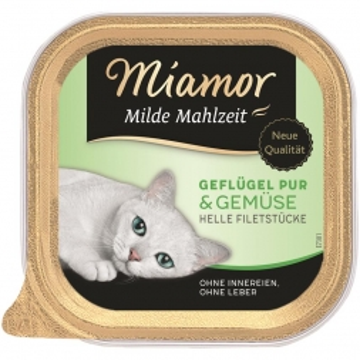 Miamor Schale Milde Mahlzeit Geflügel & Gemüse 100g (Menge: 16 je Bestelleinheit)