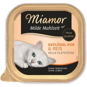 Miamor Schale Milde Mahlzeit Geflügel & Reis 100g (Menge: 16 je Bestelleinheit)