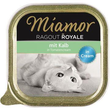 Miamor Schale Ragout Royale Cream Kalb in Tomatencream 100g (Menge: 16 je Bestelleinheit)