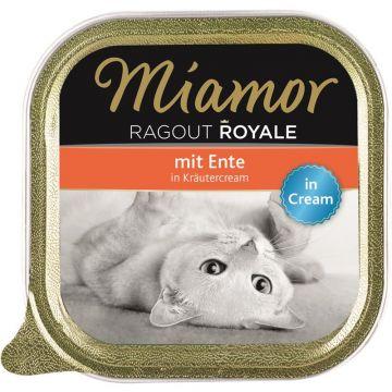 Miamor Schale Ragout Royale Cream Ente in Kräutercream   100g (Menge: 16 je Bestelleinheit)