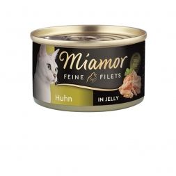 Miamor Feine Filets Huhn in Jelly 100g (Menge: 24 je Bestelleinheit)