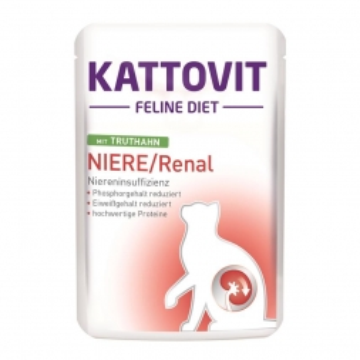 Kattovit PB Feline Diet PB Niere/Renal mit Truthahn 85g  (Menge: 24 je Bestelleinheit)