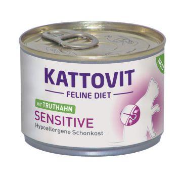 Kattovit Dose Feline Diet Sensitive Truthahn 175g (Menge: 12 je Bestelleinheit)