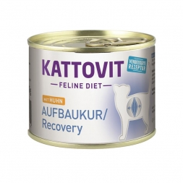 Kattovit Dose Feline Diet Aufbaukur/Recovery Huhn 185g (Menge: 12 je Bestelleinheit)