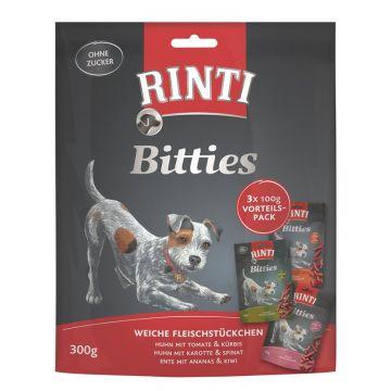 Rinti Extra Bitties Multipack mit 3 verschiedenen Sorten 300g  (Menge: 8 je Bestelleinheit)