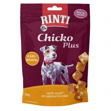 Rinti Chicko Plus Käsewürfel 80g (Menge: 12 je Bestelleinheit)