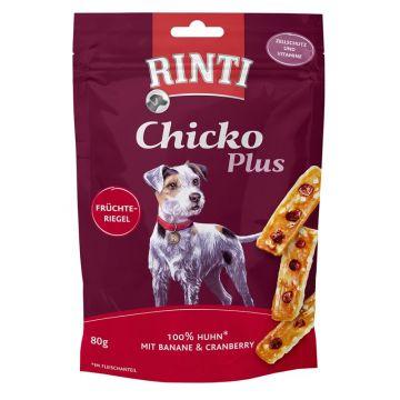 Rinti Chicko Plus Früchteriegel Huhn 80g (Menge: 12 je Bestelleinheit)