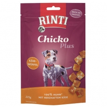 Rinti Chicko Plus Käsewürfel Huhn 225 g (Menge: 9 je Bestelleinheit)