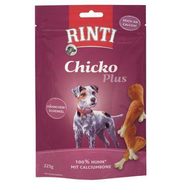 Rinti Chicko Plus Hähnchenschenkel Calciumbone 225 g (Menge: 9 je Bestelleinheit)