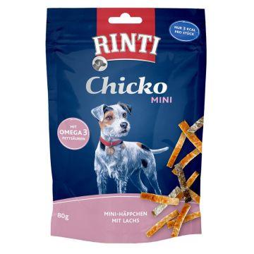 Rinti Chicko Mini Häppchen Lachs 80g (Menge: 12 je Bestelleinheit)