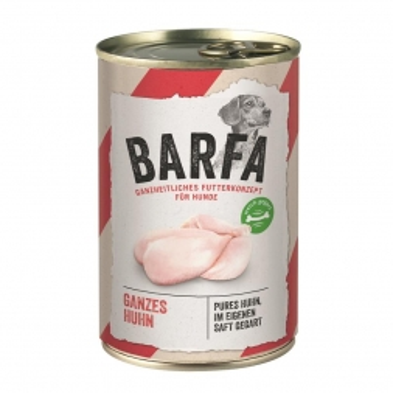 Rinti Dose BARFA Huhn Total 415g (Menge: 12 je Bestelleinheit)