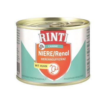 Rinti Dose Canine Niere/Renal Huhn 185g (Menge: 12 je Bestelleinheit)