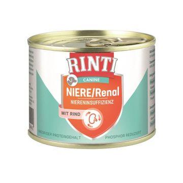 Rinti Dose Canine Niere/Renal Rind 185g (Menge: 12 je Bestelleinheit)