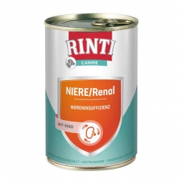 Rinti Dose Canine Niere/Renal Rind 400g (Menge: 6 je Bestelleinheit)
