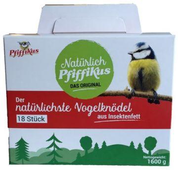 Pfiffikus Natürlich Insektenfettknödel 18er Box