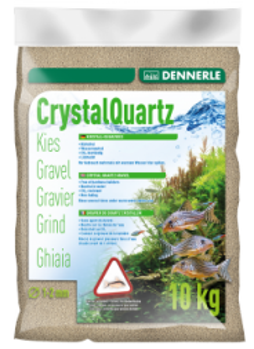 Dennerle Kristall-Quarzkies naturweiß, 10kg