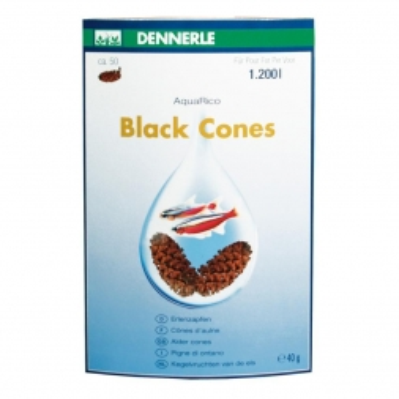 Dennerle Black Cones 50Stück