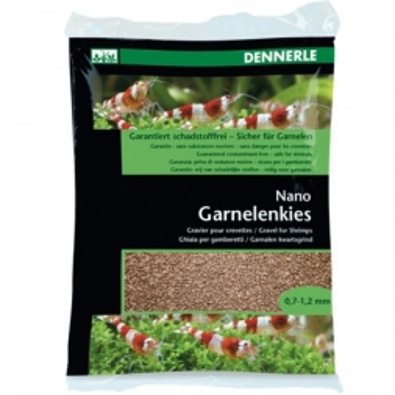 Dennerle Nano Garnelenkies Borneo braun 2kg