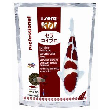 sera Koi Professional Spirulina Farbfutter 2200 g