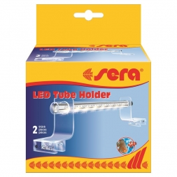 sera LED Tube Holder Clear, 2 Stück