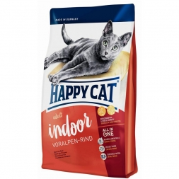 Happy Cat Supreme Indoor Voralpen-Rind 10 kg