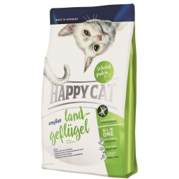 Happy Cat Sensitive Land-Geflügel 1,4 kg