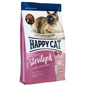 Happy Cat Supreme Sterilised Voralpen-Rind 4kg