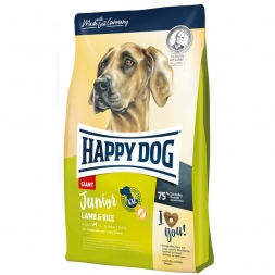 Happy Dog Supreme Junior Giant Lamb & Rice 4kg